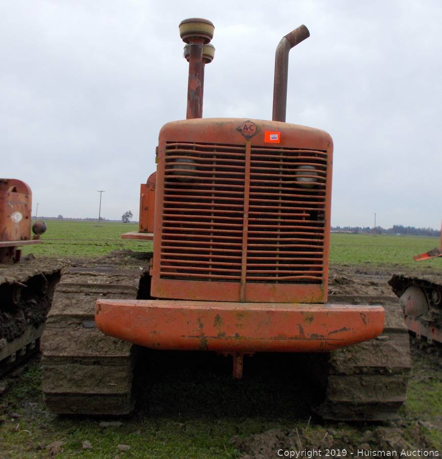 ALLIS CHALMERS HD15A W/BEE GEE PUMP, S/N 2549, UNKNOWN HOURS [NOT RUNNING]