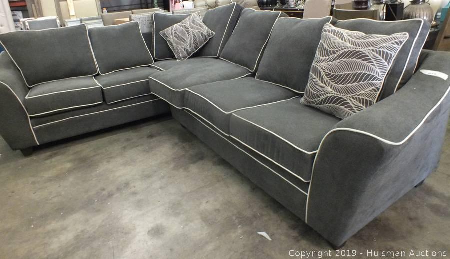 Cool Grey Sectional Sofa 99 X 75 Short Links Chair Design For Home Short Linksinfo