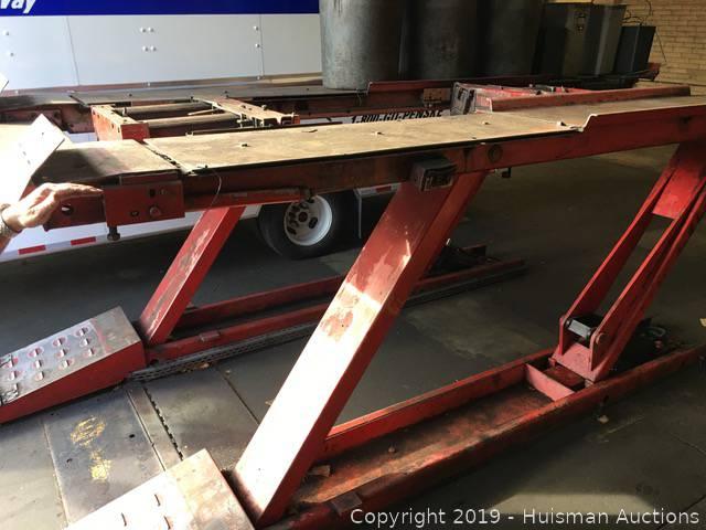 Hunter Alignment Rack >> Hunter Alignment Rack Hydraulic 220 Volts Located In Berkeley Ca